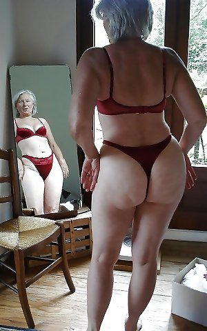 Mature in Thongs 02