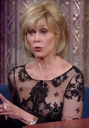 Shaggable in her seventies: Jane Fonda